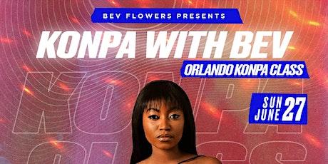 KONPA DANCE CLASS: ORLANDO SUN JUN 27TH tickets