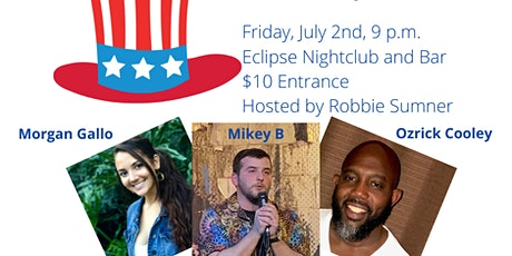 Red, White, and Blue Comedy Show tickets