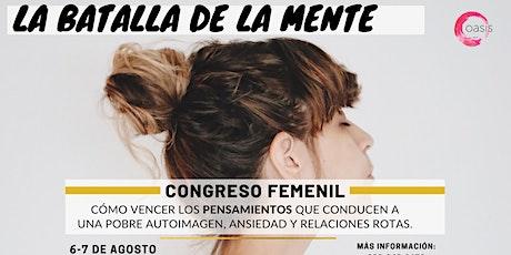Congreso Femenil: La Batalla de la Mente entradas