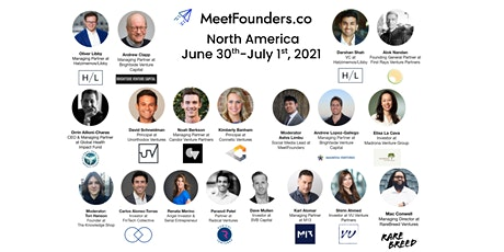 MeetFounders North America [June 2021] Venture Capital Conference tickets