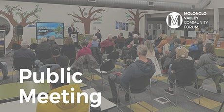 July Public Meeting - Molonglo Valley Community Forum tickets