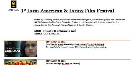 Latin American and Latinx Film Festival tickets