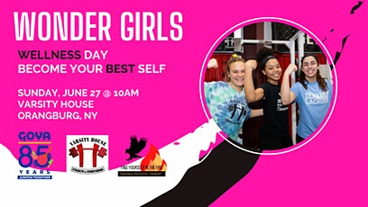 Sunday, September 26: Wonder Girls Wellness Day Fundraiser at Varsity House tickets