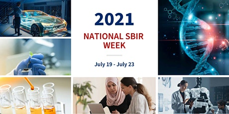 SBIR Week: Components of a winning SBIR/STTR proposal for life sciences tickets