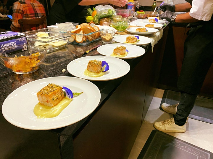 Gourmet Food Tasting & Happy Hour image