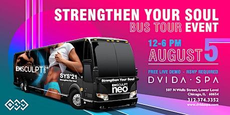 EmSculpt Neo Bus Tour Event 12-3pm on August 5th tickets