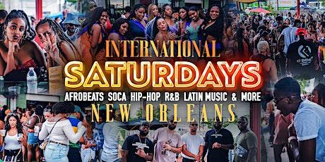 International Saturdays New Orleans tickets