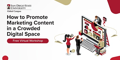 How to Promote Marketing Content in a Crowded Digital Space   Workshop tickets
