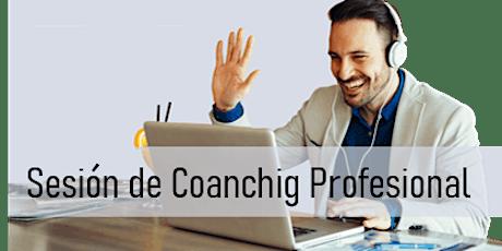 Sesión de Coaching Profesional 21/Jun entradas