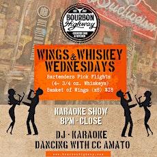 Karaoke Whiskey & Wings Wednesdays tickets