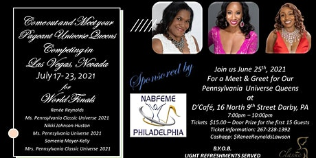 Meet and Greet of Pageant Universe Pennsylvania Queens tickets