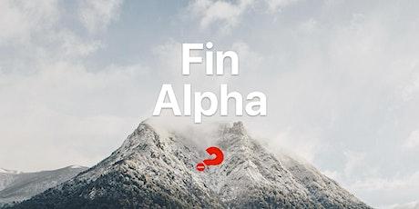 Fin Alpha  10 de Julio  (única fecha) entradas