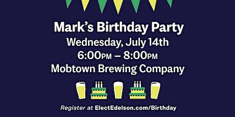 Mark Edelson for Delegate Birthday Celebration tickets