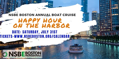 """""""Happy Hour On The Harbor"""" - NSBE Boston Summer Boat Cruise tickets"""