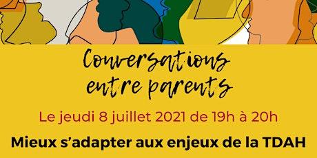 Conversation : Mieux s'adapter aux enjeux de la TDAH billets