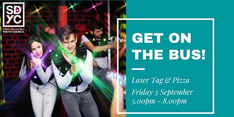 GET ON THE BUS - Laser tag tickets