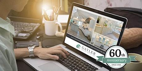 Kitchen & Bathroom Remodeling — LIVE Interactive Webinar tickets