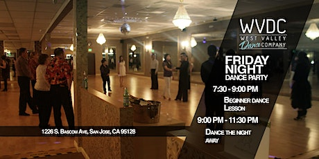DANCE PARTY @WVDC ($15.00 for Class + Party/$10.00 for Party Only) tickets