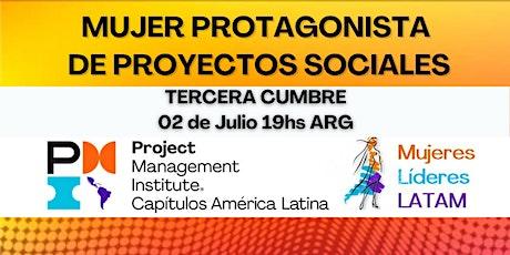 Tercera Cumbre Mujeres Líderes Latinoamericanas entradas