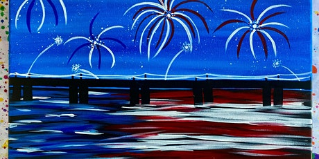 American Night Lights Sip and Paint night at The Playa II Bar and Grill tickets