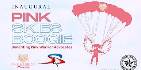 SKYDIVE @ PINK SKIES BOOGIE tickets