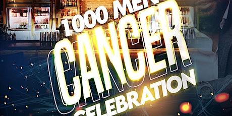 1000 MEN CANCER CELEBRATION tickets