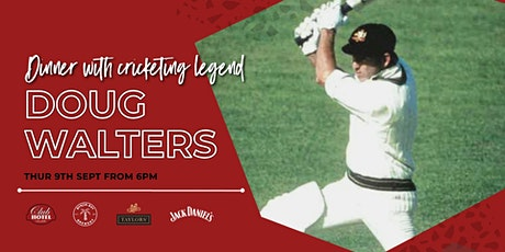 Dinner with Doug Walters tickets