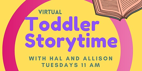 Toddler Storytime with Grand Central Library tickets
