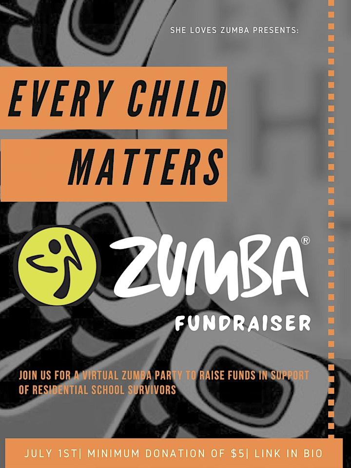 Every Child Matters Zumba Fundraiser image
