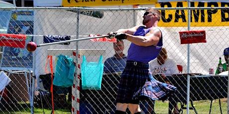 2021 Prescott Highland Games & Celtic Faire Athletics Online Registration tickets