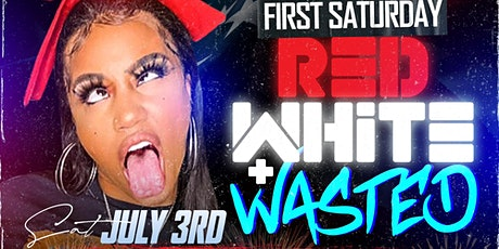 RED, WHITE & WASTED: SATURDAY JULY 3RD @ CAFE SHISHA tickets