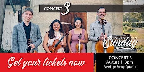 Sunday Series Concert 3 tickets