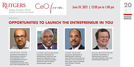 Opportunities to Launch the Entrepreneur in You at Rutgers tickets
