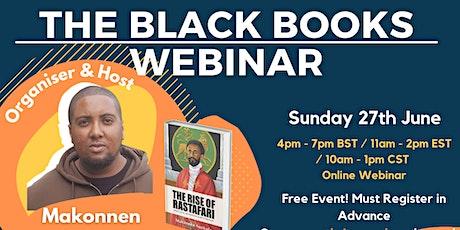 The Black Books Webinar tickets