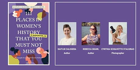 Virtual Salon: 111 Places in Women's History Book Preview tickets