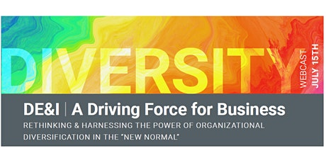 """The Power of Organizational Diversification in the """"New Normal"""" tickets"""