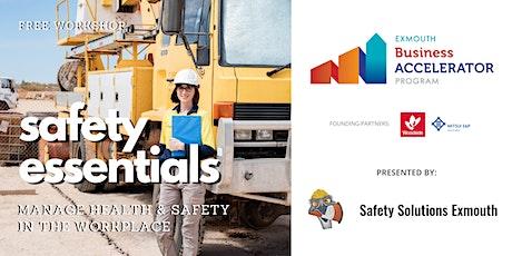 Business Safety Essentials tickets