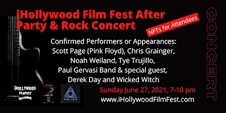 Rock Concert and After Party for iHollywood Film Fest tickets
