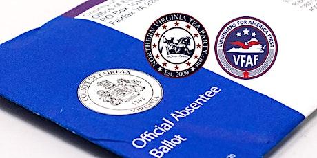 VFAF Election Transparency Training - NoVa / Fairfax tickets