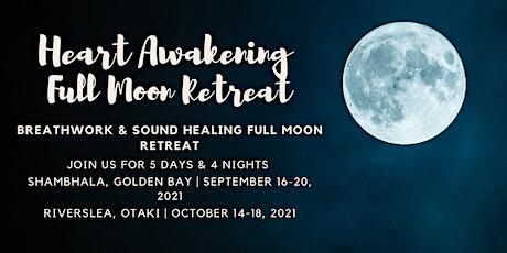5 Day Breathwork & Sound Healing Full Moon Retreat, Golden Bay tickets