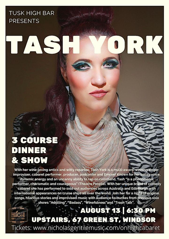 Cabaret On High Presents - Tash York image