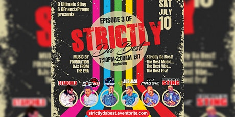 STRICTLY DA BEST EP-3: The Old Skool Reunion on Zoom tickets