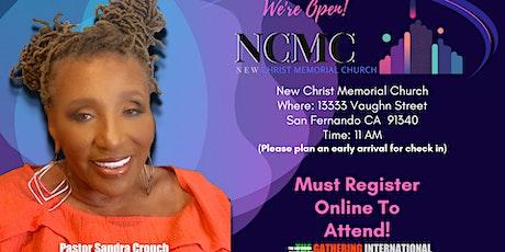 New Christ Memorial Church Sunday Worship Service tickets