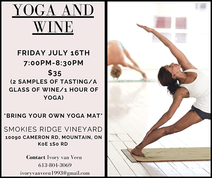 Yoga/Wine Night image