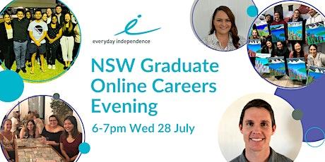 NSW Online Graduate Careers Evening tickets