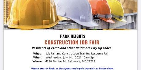 Park Heights Construction Job Fair tickets