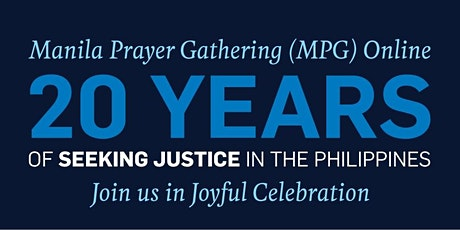 Manila Prayer Gathering (MPG) 2021 Online tickets