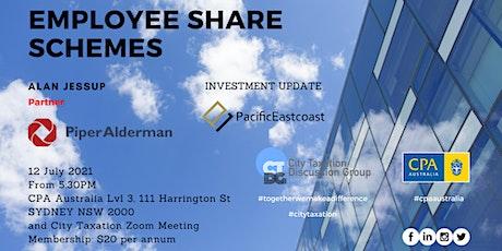 CTDG July 2021 - Employee Share Schemes (ESS) tickets
