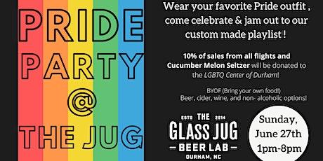 Pride Celebration @ The Glass Jug tickets
