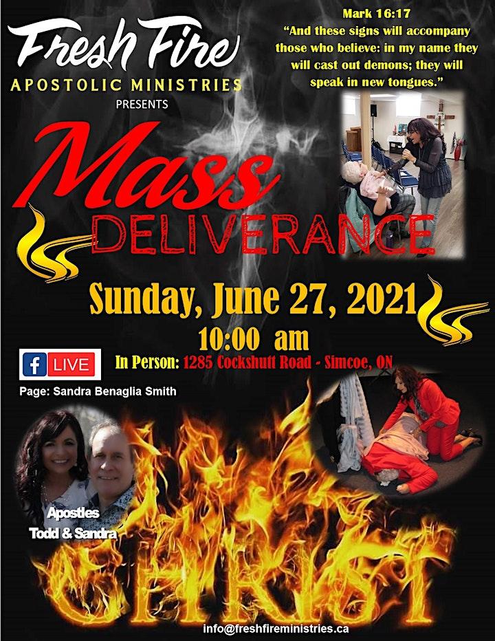 Fresh Fire Apostolic Ministries-Mass Deliverance Service image
